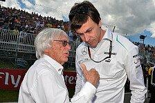 Formel 1 - Ecclestone ist stark zur�ckgekommen: Wolff: Ecclestone-Prozessende gut