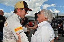 Formel 1 - Er kennt die Konsequenzen: Ecclestone: R�ikk�nen war unvern�nftig