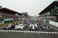 WEC - N�rburgring geht leer aus: WM-Kalender: Keine Ver�nderungen f�r 2014