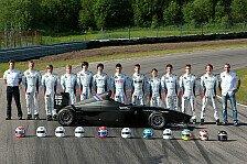 Mehr Motorsport - Ausbildungsjahrgang bereit f�r Rennsimulation: BMW Talent Cup-Schulung in Anderstorp