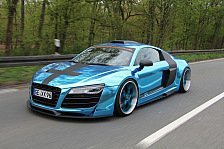 Auto - Bochumer erfreuen Tuning-Gemeinde: Star on Wheels: XXX-Performance-R8