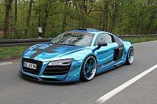 Auto - Bochumer erfreuen Tuning-Gemeinde: Star on Wheels: XXX-Performance-R8
