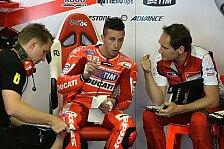MotoGP - Hayden st�rzt, Dovizioso chancenlos: Ducati: Ein Wochenende zum Vergessen