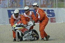 Moto3 - Auch McPhee nicht fit: Miller bricht sich Schl�sselbein