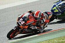 Moto2 - Favoriten zur�ck: Pasini sorgt im Training f�r �berraschung