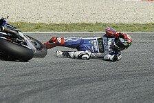 MotoGP - In Turn elf geht die Post ab: Schleudergefahr: Warum so viele St�rze?