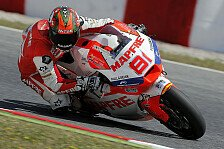 Moto2 - Torres mit Bestzeit: Warmup: Schrecksekunde bei Krummenacher