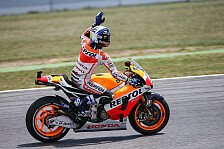 MotoGP - In Aragon alleine in der Box: Solo-Test f�r Marquez