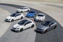 Auto - Performance trifft Effizienz : Markteinf�hrung f�r 18 neue AMG-Boliden