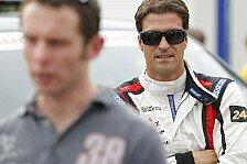 IndyCar - Gaststart f�r Sarah Fisher in Sonoma: Lucas Luhr im IndyCar
