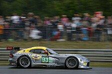 24 h von Le Mans - Schwieriges Jahr ausgesucht: Beide Vipern bei Comeback im Ziel