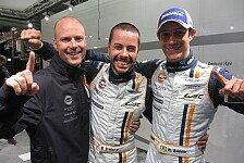 24 h von Le Mans - Makowiecki manifestiert Bestzeit: Briten jubeln: Doppelspitze f�r Aston Martin