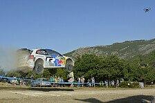 WRC - Position 2 hart umk�mpft: Sardinien: Ogier f�hrt das Feld in die Nacht