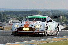 24 h von Le Mans - Fr�d�ric Makowiecki unverletzt: Aston Martin in F�hrung verunfallt