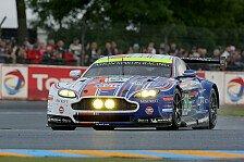 24 h von Le Mans - Stefan Mücke auf dem Podest