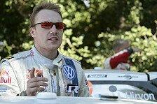WRC - Anzeige f�r G-Kr�fte und Geschwindigkeit inklusive: Video - Latvala bei der Lahti Historic Rally 2013