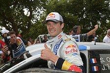 WRC - Power-Stage-Platz drei reicht zum Titel: Frankreich: Sebastien Ogier ist Weltmeister 2013