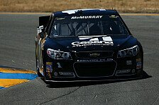 NASCAR - Road Course Ringer in Aktion: McMurray holt die Pole in Sonoma