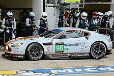 24 h von Le Mans - Weitere Aston Martin fallen aus: Safety Cars bestimmen Morgenstunden