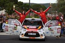 WRC - Spannend bis zur letzten Sekunde : Riedemann siegt auf Sardinien