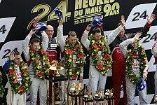 24 h von Le Mans - Bilderserie: Fakten zu Audis Triumph