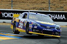 NASCAR - Road-Course-Spektakel in Sonoma: Truex holt seinen zweiten Sprint-Cup-Sieg