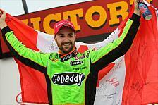 IndyCar - Erster Erfolg auf einem Oval: Dritter Saisonsieg f�r Hinchcliffe