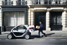 Auto - Mit Laderaum und Heckt�r: Neuer Renault Twizy Cargo