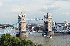 Formel 1 - Neues Gesetz st�rkt Ecclestones Idee: F1-Rennen in London nicht mehr ausgeschlossen