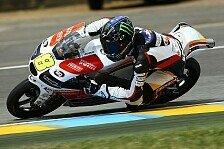 Moto3 - Flucht vor Stammplatz sieben: Racing Team Germany: Aufwind beibehalten