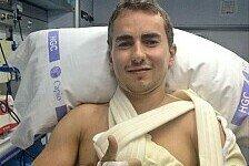MotoGP - Komplizierter Bruch: Lorenzo bereits operiert