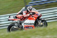 MotoGP - Schlimmer f�rs Bike als f�r mich: Dovizioso: Sturz unm�glich zu verhindern