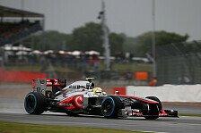 Formel 1 - Alle Teile funktionieren: McLaren: Wasserspiele ohne Folgen