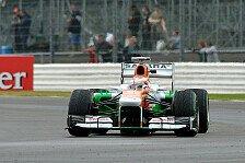 Formel 1 - Mit Reifensparen aufs Podium?: Di Resta gl�nzt: P5 im Qualifying