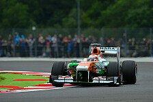 Formel 1 - Temperaturen als Unsicherheitsfaktor: Di Resta: Wir haben noch Speed im Auto