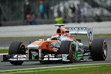 Formel 1 - R�tsel um neue Teile: Sutil auf den harten Reifen stark