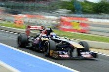 Formel 1 - Vettel kostete Zeit: Toro Rosso: Schnell trotz Problemen