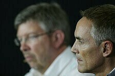 Formel 1 - Mit voller Motivation ins Ungl�ck: Martin Whitmarsh erkl�rt McLaren-Krise