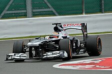 Formel 1 - Keine perfekte Runde: Williams f�hrt beim Heimrennen hinterher
