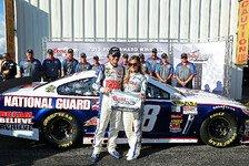NASCAR - Seltener Startplatz f�r den Publikumsliebling: Kentucky-Pole geht an Earnhardt Junior