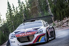 Rallye - Pikes Peak: Entgeht Loeb dem Regen?