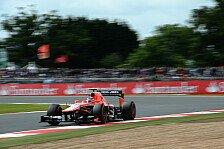 Formel 1 - Ferrari in Front, Vettel abgeschlagen: Top-Speeds in Silverstone: Marussia im Spitzenfeld