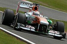 Formel 1 - Mit P9 zufrieden: Di Resta: Wochenende mit H�hen und Tiefen