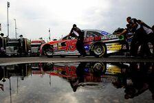 NASCAR - Dauerregen �ber dem Kentucky Speedway: Kentucky-Rennen auf Sonntag verschoben