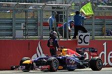 Formel 1 - Es kam pl�tzlich: Vettel durch Getriebe gestoppt