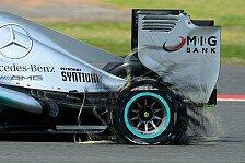 Formel 1 - Findet eine L�sung!: Lauda-Kritik: Reifen sind lebensgef�hrlich