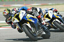 Superbike - Eines der verr�cktesten Rennen: Spitzentrio nach Wolkenbruch erleichtert
