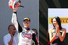 Superbike - Camier und Laverty k�nnen nur gratulieren: Rea erlebte ein furchteinfl��endes Rennen