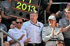 Formel 1 - Pl�doyer f�r den Ex-Teamchef: Watson: Nur Brawn kann mit Mercedes-Duell umgehen
