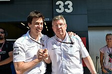 Formel 1 - K�nnten von seiner Ruhe profitieren: Mercedes: Holt Wolff Brawn zur�ck an die Strecke?